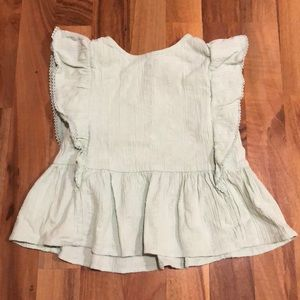 18-24 month old navy blouse